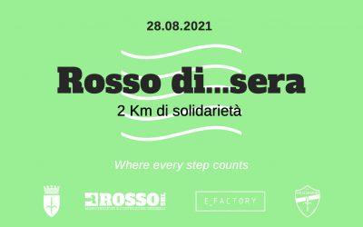 """""""Rosso di…sera: 2KM di solidarietà"""", il 28 agosto in Porto Vecchio!"""