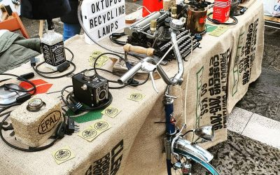 Artigiani in…vetrina: Oktopus Recycling Lamps
